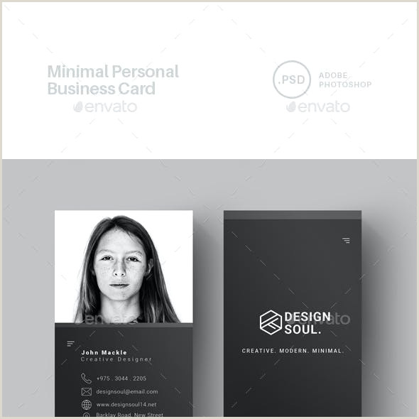 Personal Business Card Samples Personal Business Card Templates & Designs From Graphicriver