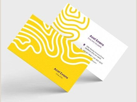 Personal Business Cards 28 Best Personal Business Card Templates Word Ai Pages