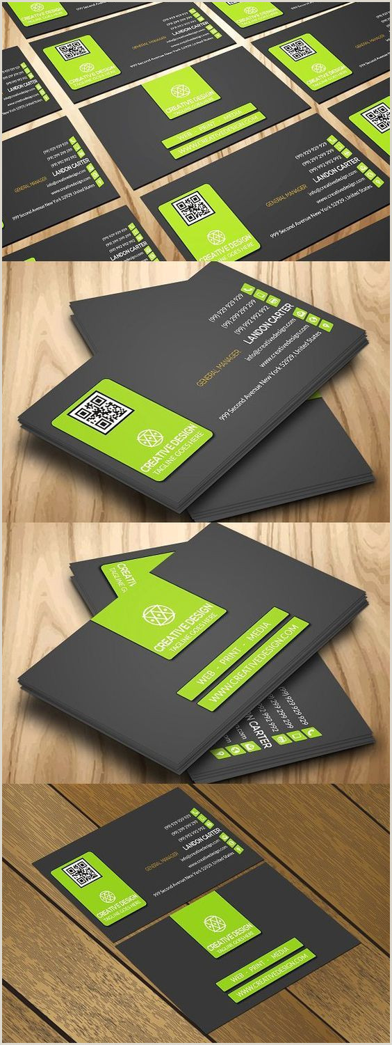 Personal Business Cards Examples Blue Car Clean Corporate Creative Design Game Glass