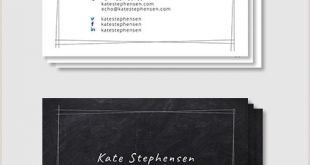 Personal Business Cards with Photo 28 Best Personal Business Card Templates Word Ai Pages