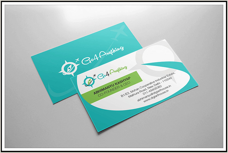 Personal Business Cards With Photo Business Card Designs By Digital Arcanum