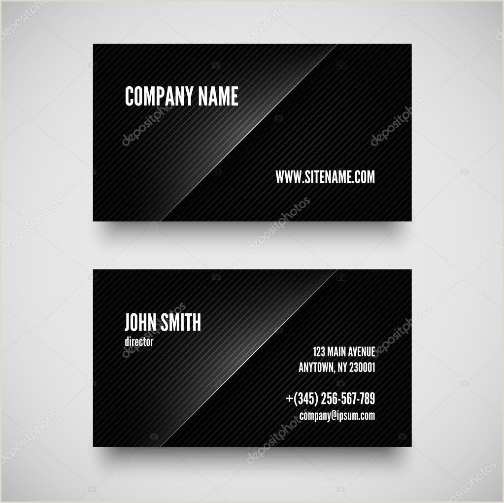Personal Calling Card Examples ᐈ Calling Card Sample Design Stock Images Royalty Free