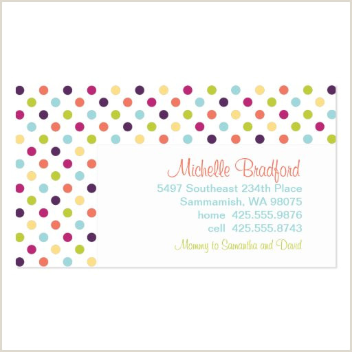 Personal Calling Card Examples Personal Calling Business Card Templates Page4
