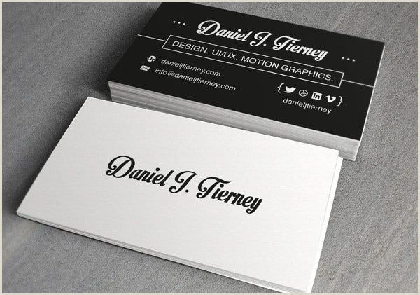 Personal Cards Designs 8 Personal Card Templates Psd Ai Vector Eps
