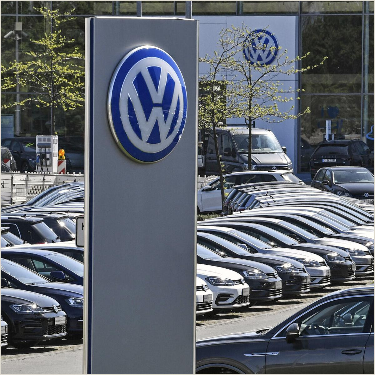 Personal Cards Designs Volkswagen Returns To Profit As Global Auto Markets Recover