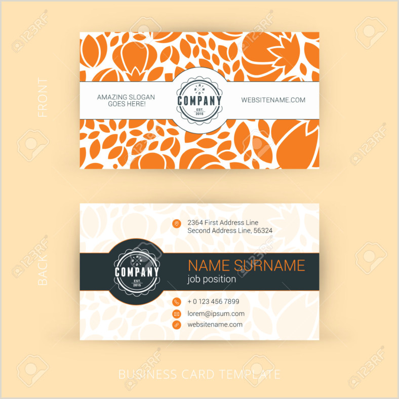 Personal Information Cards Template 10 Personal Card Designs