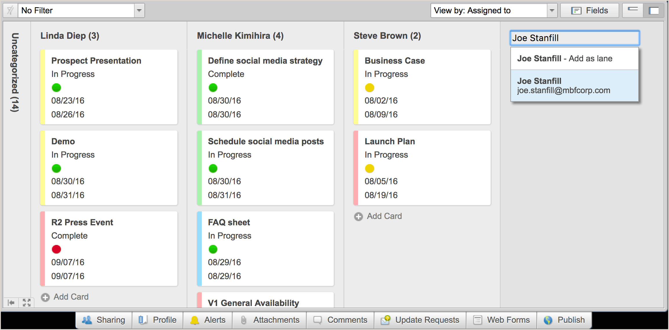 Personal Information Cards Template Archived Smartsheet Release Notes