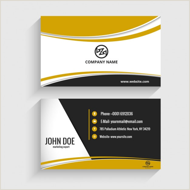 Personal Visiting Card Download Vector Modern Visiting Card With Octagon