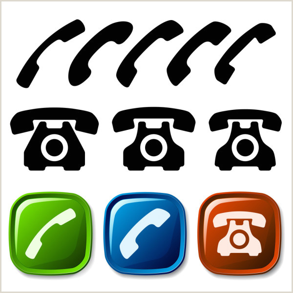 Phone Symbol For Business Card ᐈ Phone For Business Card Stock Icon Royalty Free