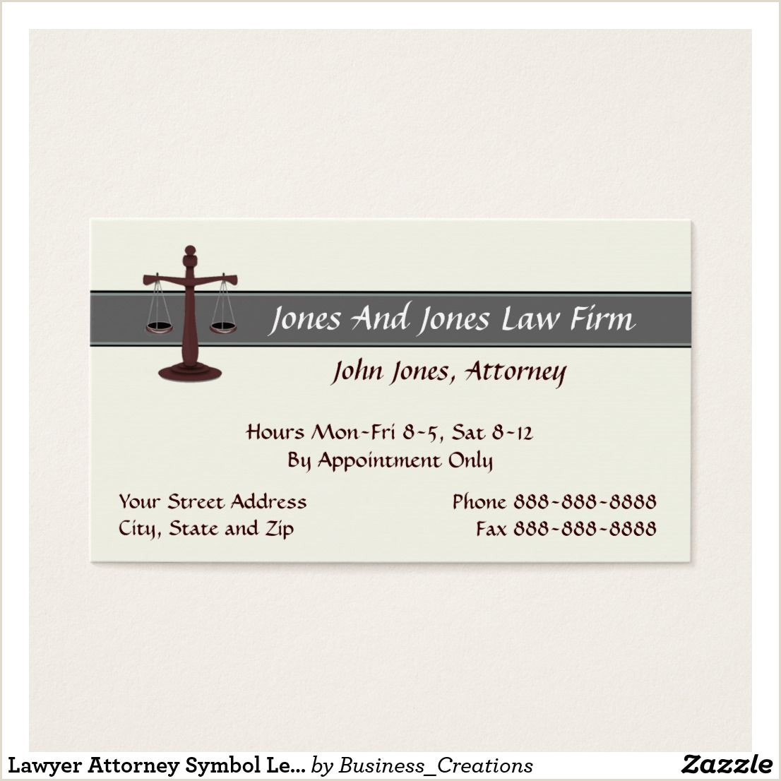Phone Symbol For Business Card Lawyer Attorney Symbol Legal Business Card