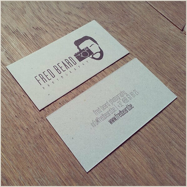 Photo Business Cards Online 45 Best Free Graphy Business Cards To Make An Impression