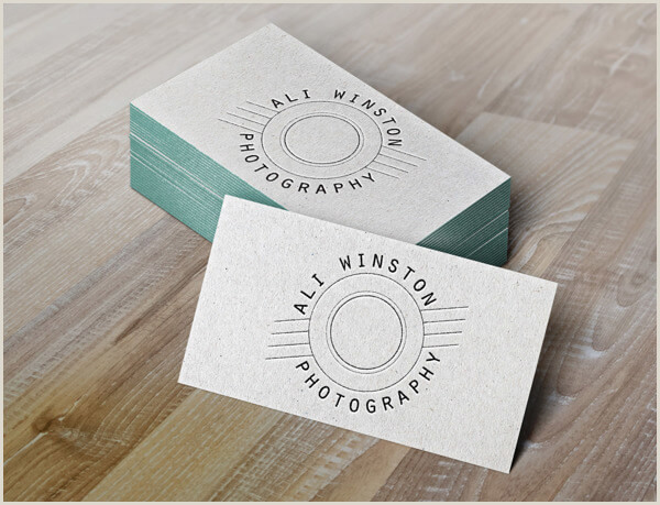Photographer Business Card Ideas 30 Creative Business Card Designs For Graphers