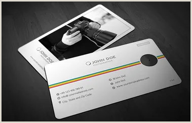 Photos On Business Cards 40 Creative Graphy Business Card Designs For Inspiration
