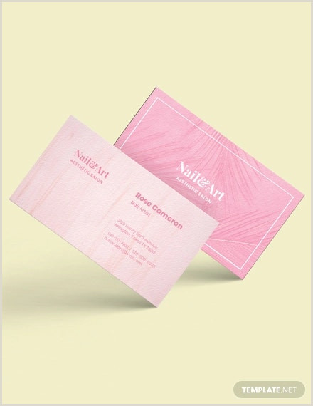 Pink And Black Business Cards 23 Pink Business Card Templates Ai Pages Psd