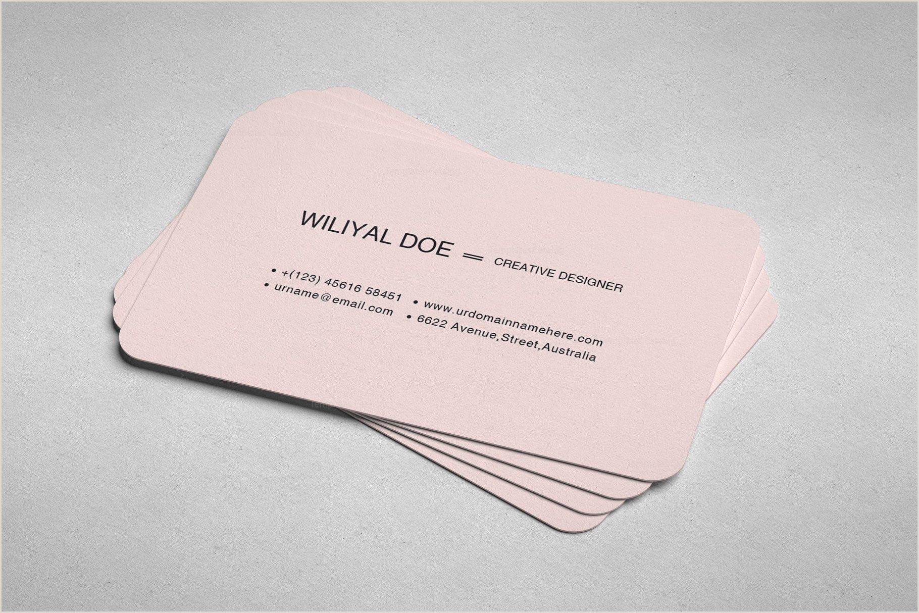 Pink And Black Business Cards Pink Black Business Cards Template Catalog