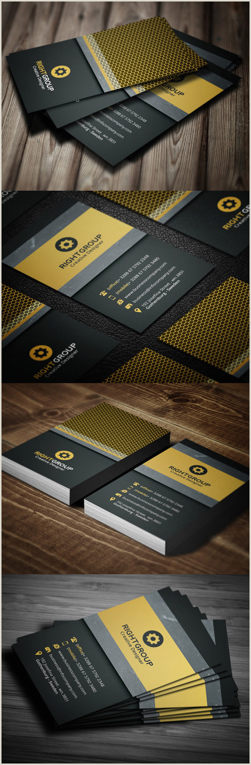 Popular Business Card Designs 20 Best Corporate Business Cards Designs For Your Inspiration