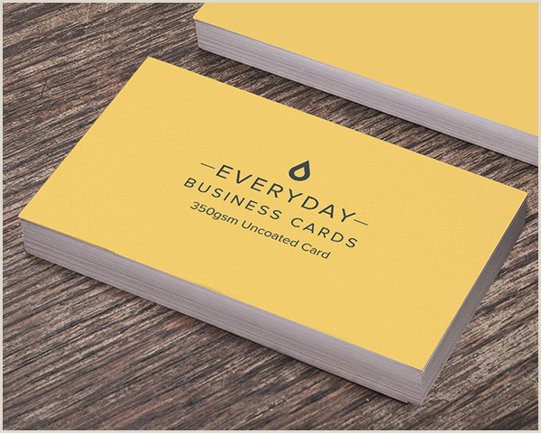 Printed Visiting Cards Business Fice & Industrial Supplies 1000 Full Colour