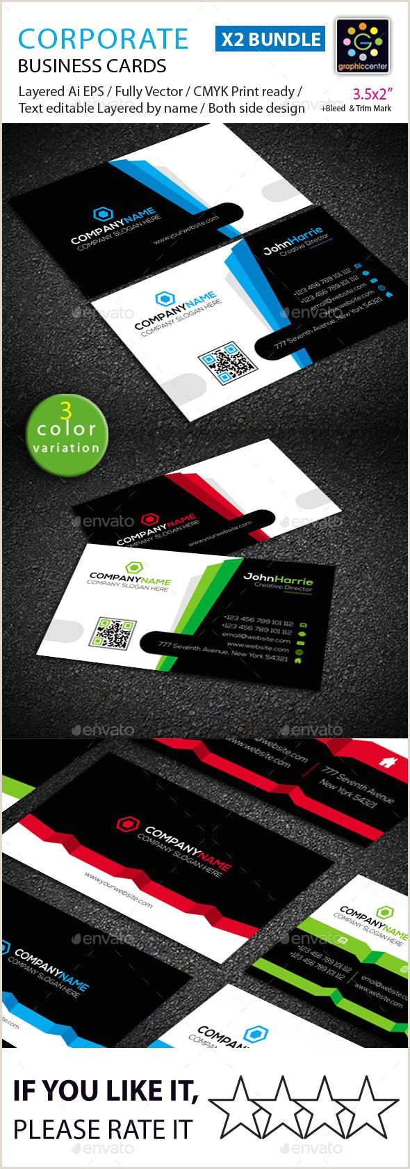 Printing Company Business Card Business Card Bundle Corporate Business Cards Download