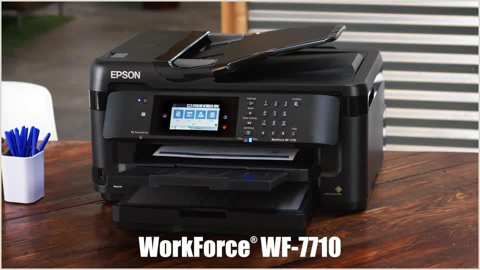 Printing Company Business Card Epson Workforce Wf 7720 19 Wide Format Wireless Inkjet All