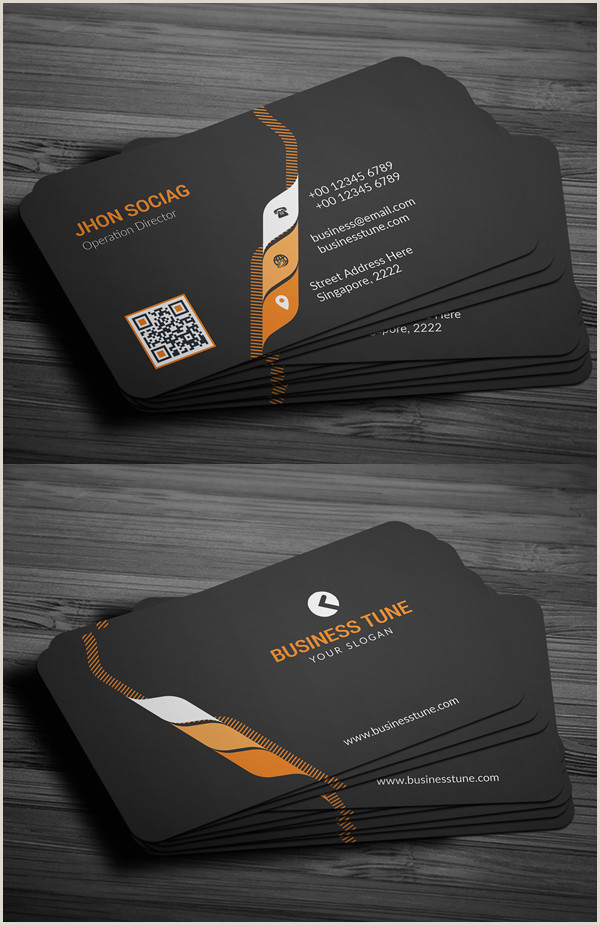 Professional Business Card 27 New Professional Business Card Psd Templates