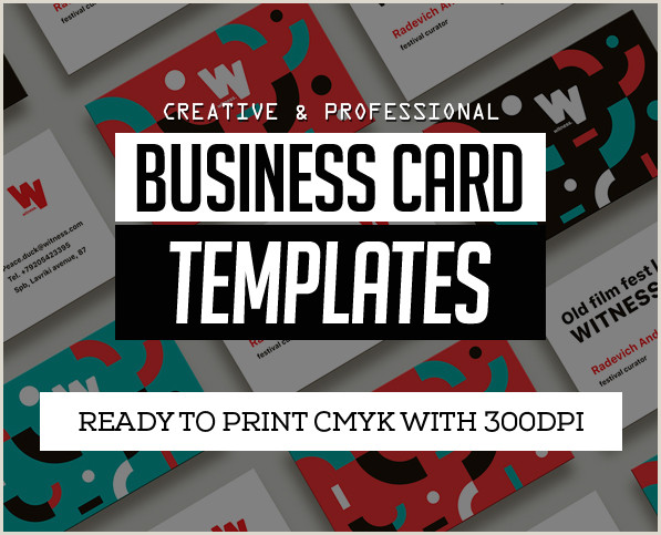Professional Business Card Design 25 New Professional Business Card Templates Print Ready