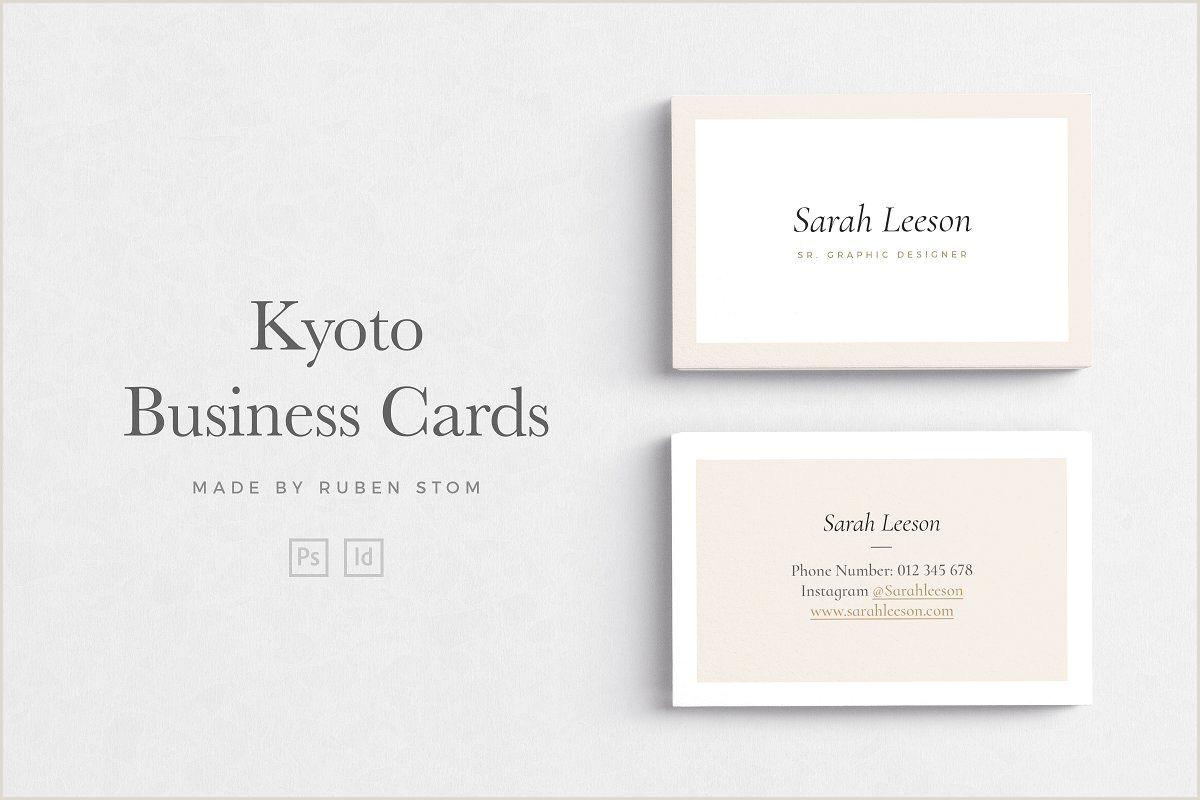 Professional Business Card Fonts Business Card Bundle