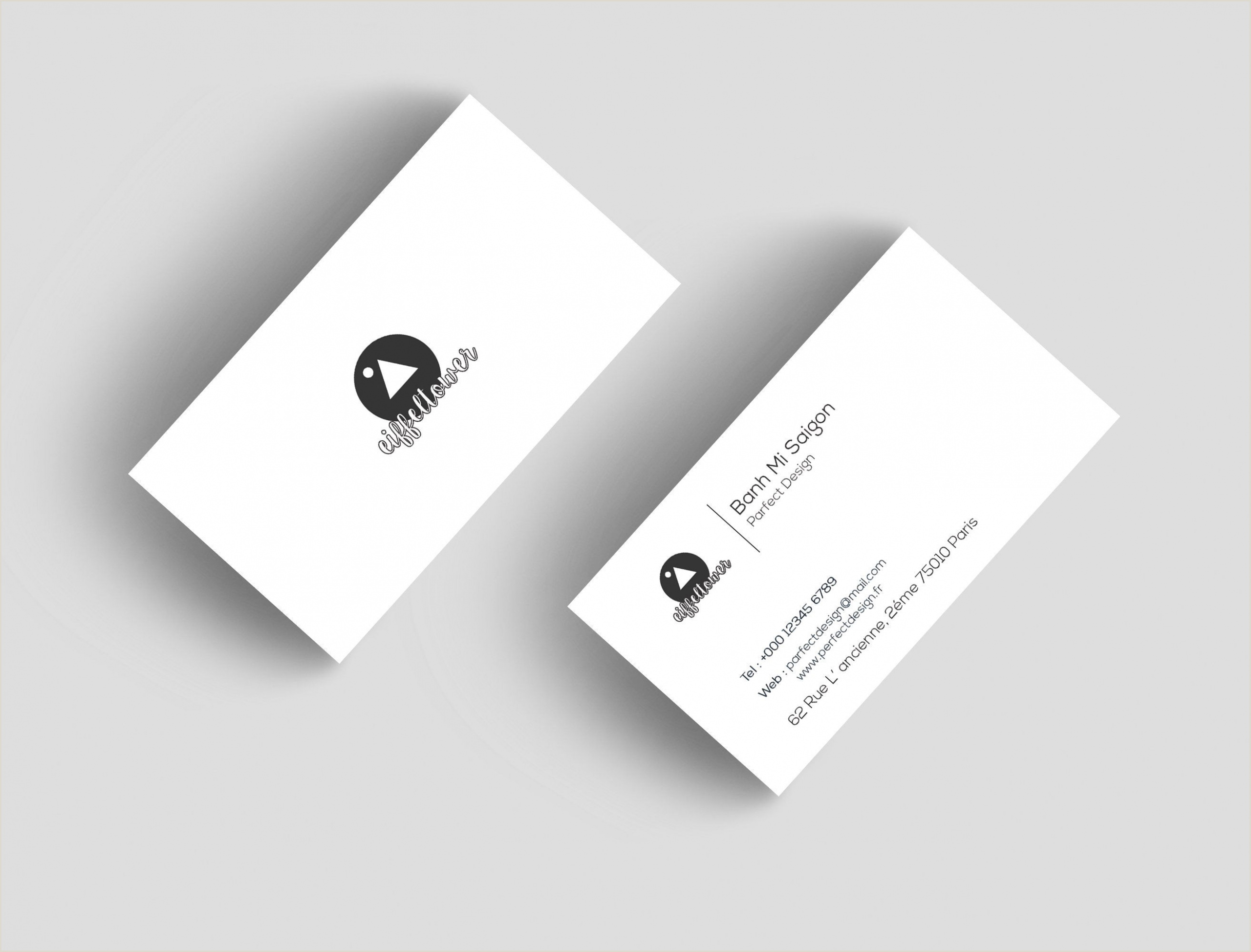 Professional Business Card Layout Business Cards
