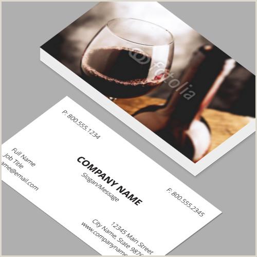 Professional Business Card Layout Business Cards Standard Horizontal Customizable Design