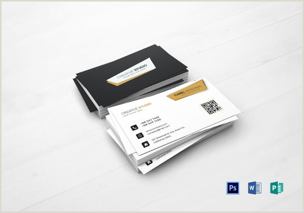 Professional Business Cards 39 Professional Business Card Templates Pages Psd Word