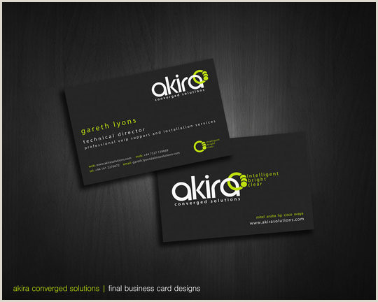 Professional Business Cards Examples 55 Beautiful Business Card Designs