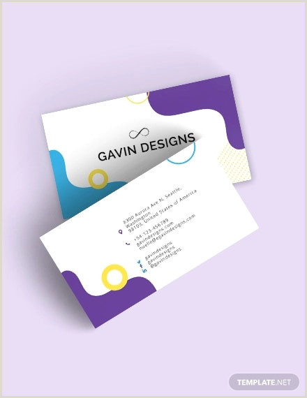 Professional Personal Business Cards 30 Best Collection Of Personal Business Card Templates