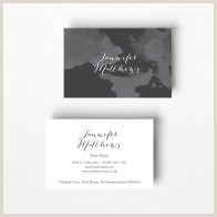 Professional Personal Business Cards Watercolour Pliment Slips