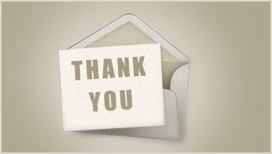 Professional Thank You Card Designs 50 Top Examples Of Thank You Cards Jayce O Yesta