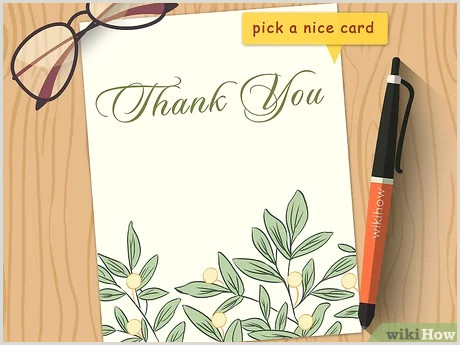 Professional Thank You Card Designs How To Write A Thank You Note 9 Steps With Wikihow
