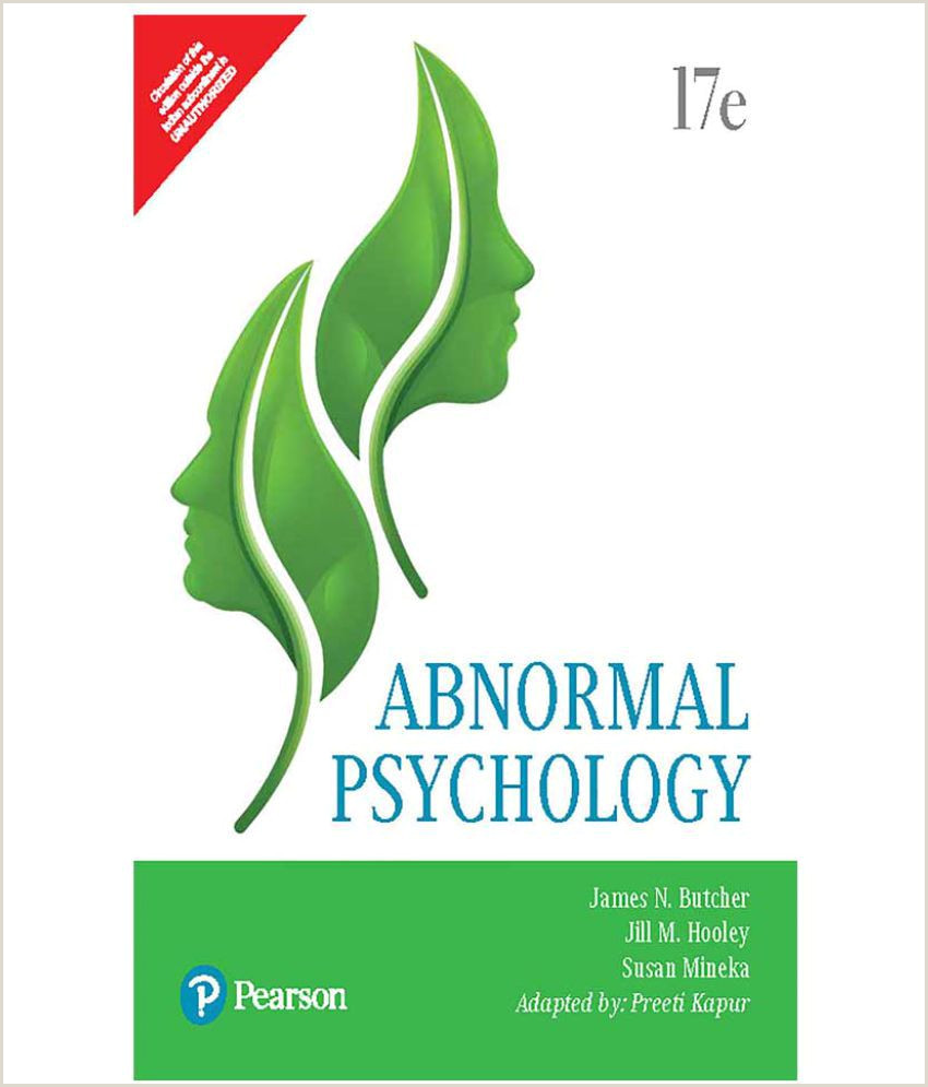 Psychologist Unique Business Cards Abnormal Psychology By Pearson