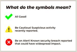 Psychologist Unique Business Cards Mu Information Technology Security Alerts