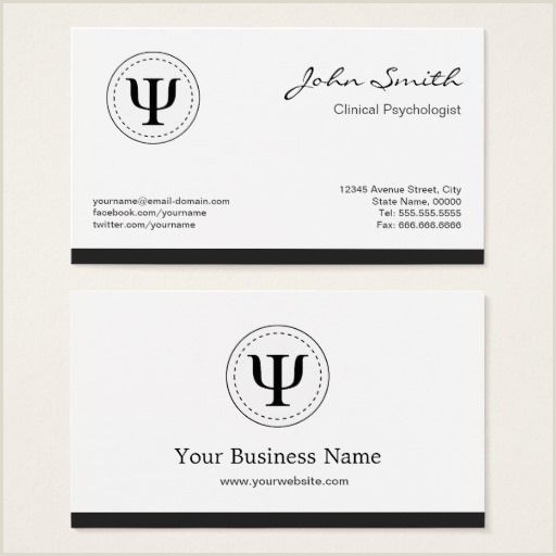 Psychologist Unique Business Cards Pin On Ma Cards