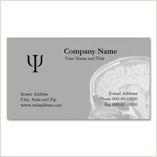 Psychologist Unique Business Cards Psychologist Business Card Zazzle