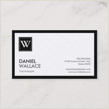 Psychologist Unique Business Cards Psychologist Business Cards