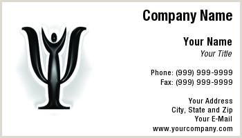 Psychologist Unique Business Cards Psychology Business Cards