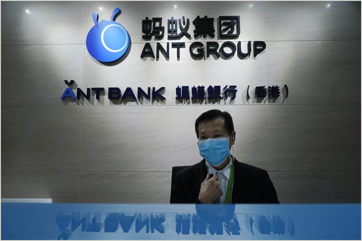Purchase Business Card Market Debut Of Chinese E Finance Giant Ant Group Postponed