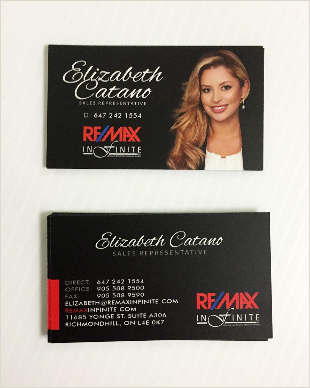 Real Estate Best Business Cards In Tracy Ca Remax Business Card Sleek Design For Realtor Elizabeth