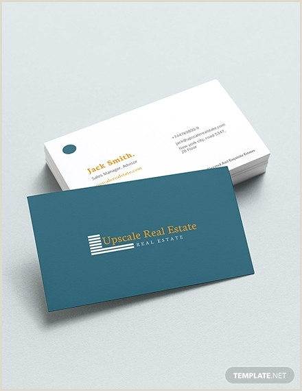 Real Estate Business Card Photos 18 Best Real Estate Business Card Examples & Templates
