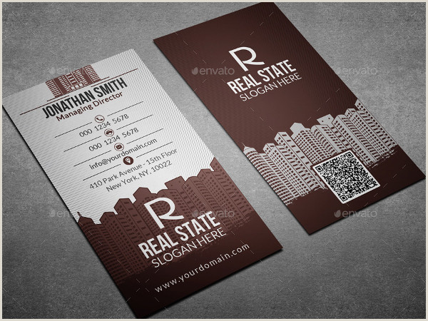Real Estate Business Cards Samples Free 25 Real Estate Business Card Templates In Psd