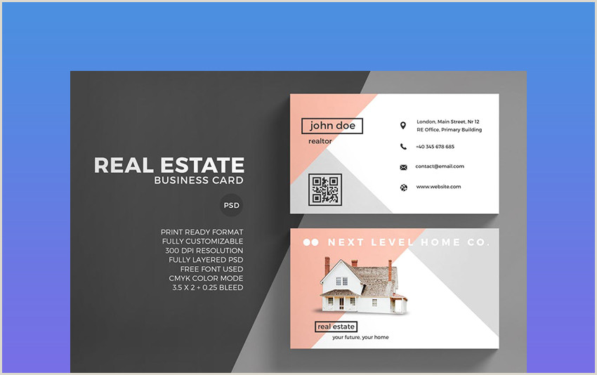 Real Estate Card Ideas 25 Best Real Estate Business Card Designs Unique Ideas For