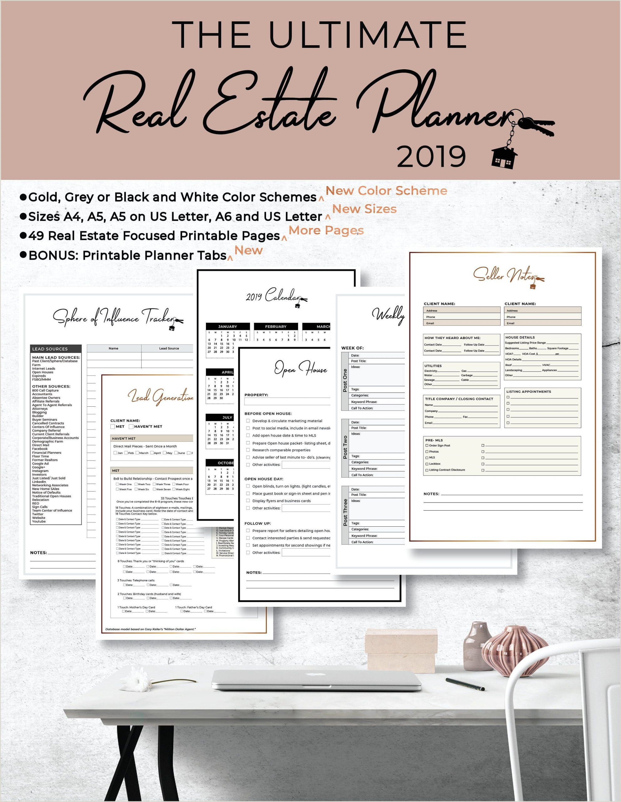 Real Estate Card Ideas Ultimate 2020 2021 Real Estate Business Planner Instant