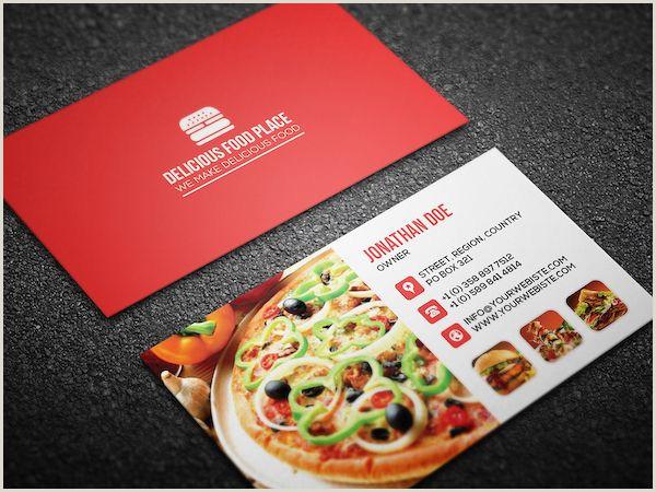 Restraurants Best Business Cards 40 Best Free Modern Business Card Psd Templates