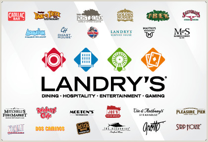 Restraurants Best Business Cards Landry S Inc The Leader In Dining Hospitality And