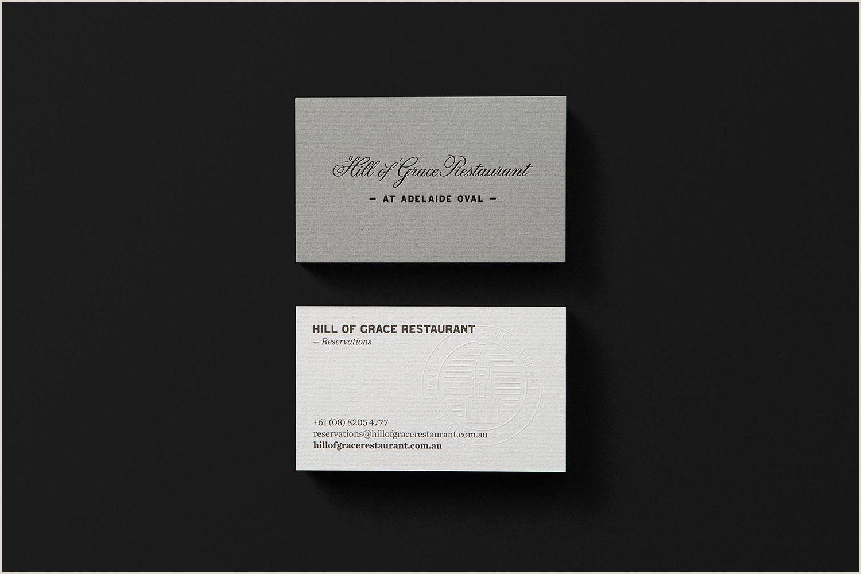 Restraurants Best Business Cards Texture