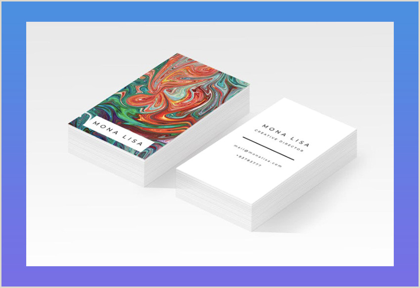 Sample Artist Business Cards 20 Best Artistic Business Card Designs For Creatives